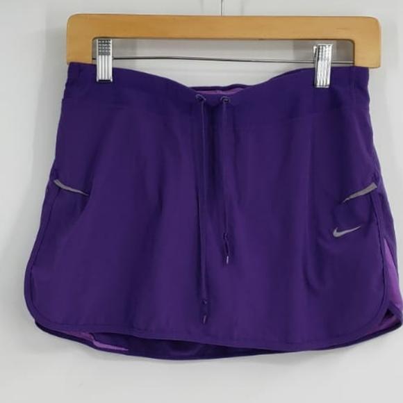 NIKE DRIFIT purple tennis skirt